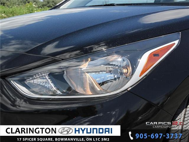 2019 Hyundai Accent Preferred (Stk: 18536) in Clarington - Image 25 of 27