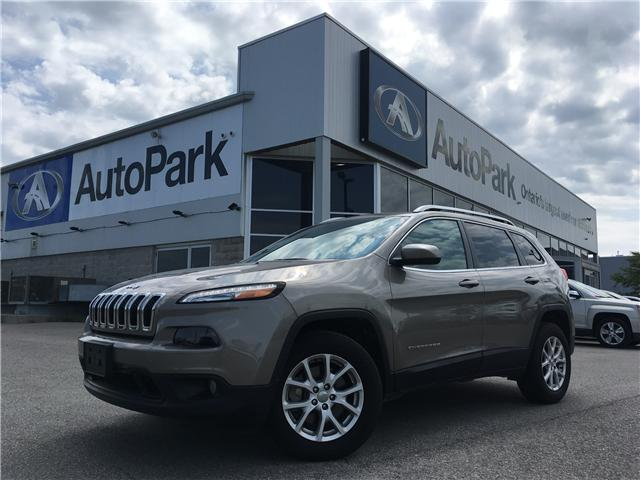 2017 Jeep Cherokee North (Stk: 17-53830) in Barrie - Image 1 of 27