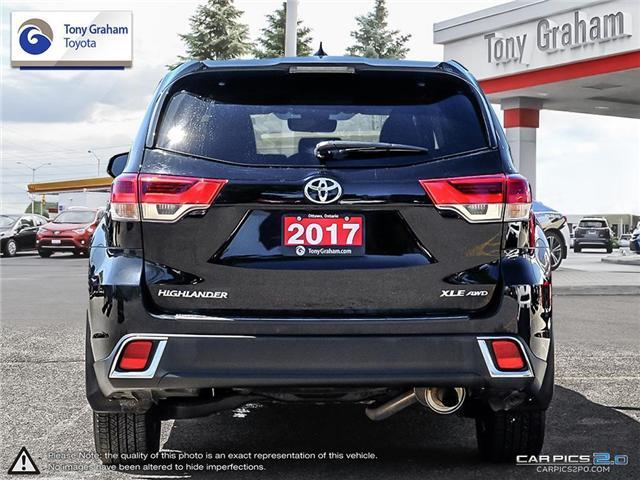 2017 Toyota Highlander XLE (Stk: E7592) in Ottawa - Image 4 of 25