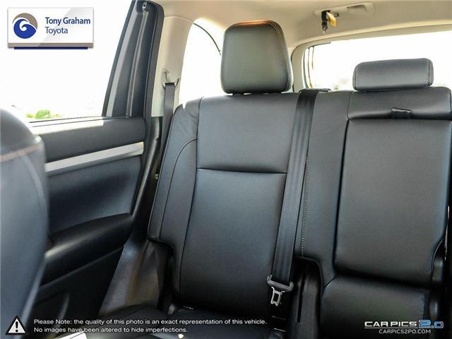 2017 Toyota Highlander XLE (Stk: E7592) in Ottawa - Image 12 of 25