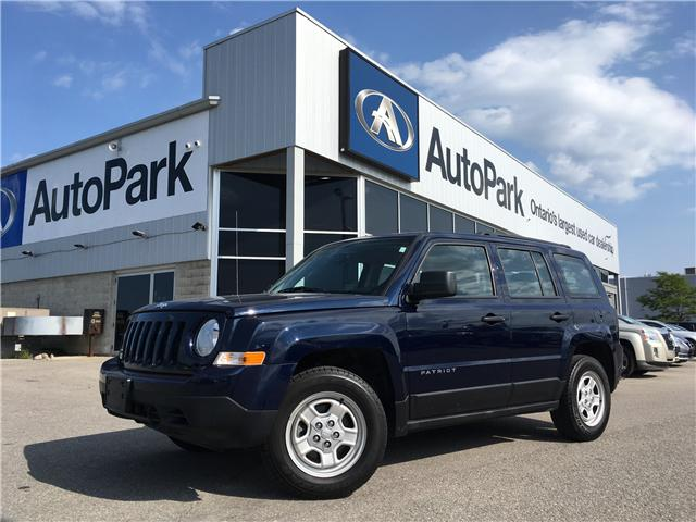 2015 Jeep Patriot Sport/North (Stk: 15-68104JB) in Barrie - Image 1 of 22