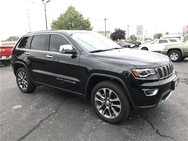 2018 Jeep Grand Cherokee Limited 4X4 Heated Leather Panoramic Sun Roof (Stk: 19143A) in Windsor - Image 1 of 11