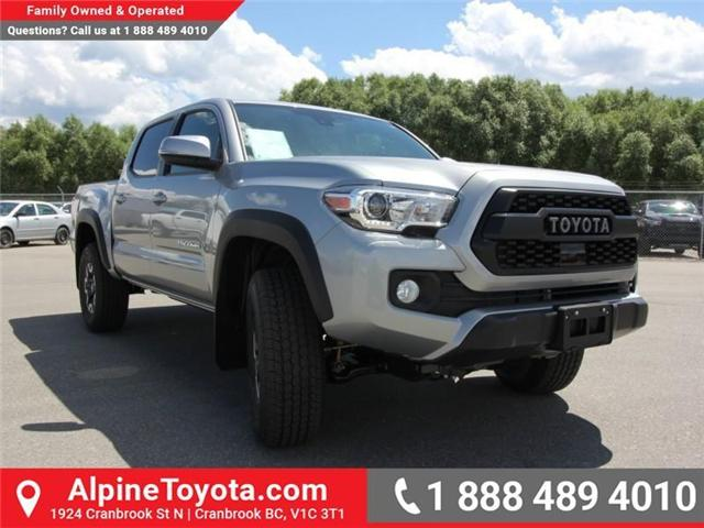2018 Toyota Tacoma TRD Off Road (Stk: X149449) in Cranbrook - Image 5 of 16