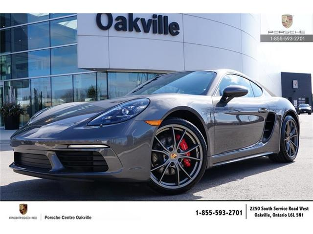 2018 Porsche 718 Cayman S (Stk: 18298) in Oakville - Image 1 of 22