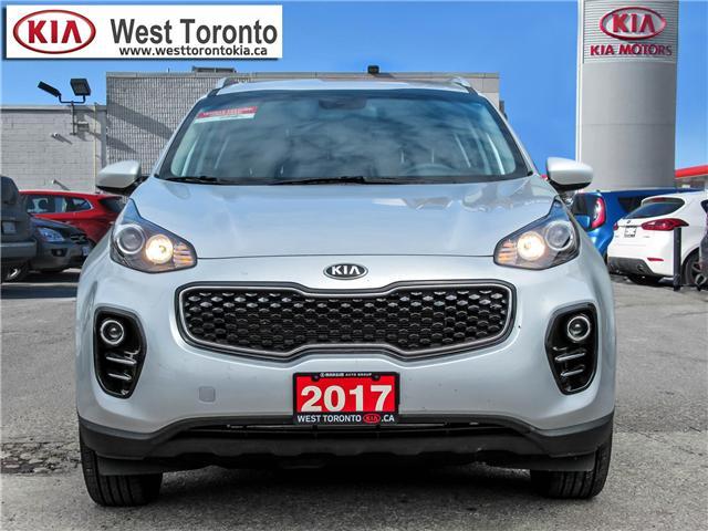 2017 Kia Sportage LX (Stk: P396) in Toronto - Image 2 of 17