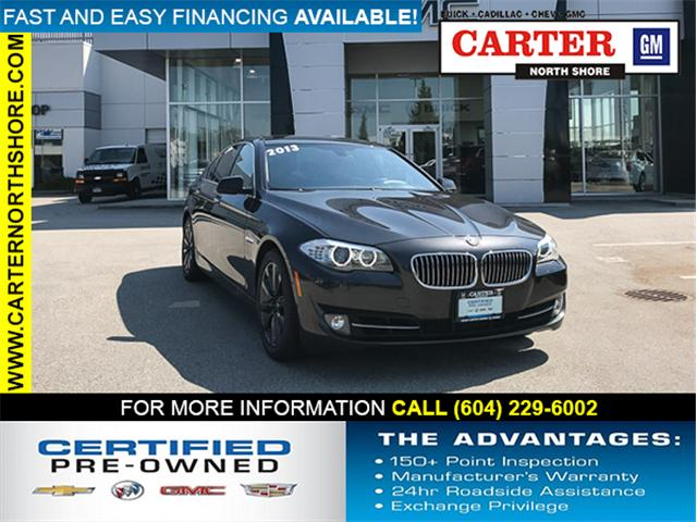2013 BMW 528i xDrive (Stk: 8D99011) in Vancouver - Image 1 of 27