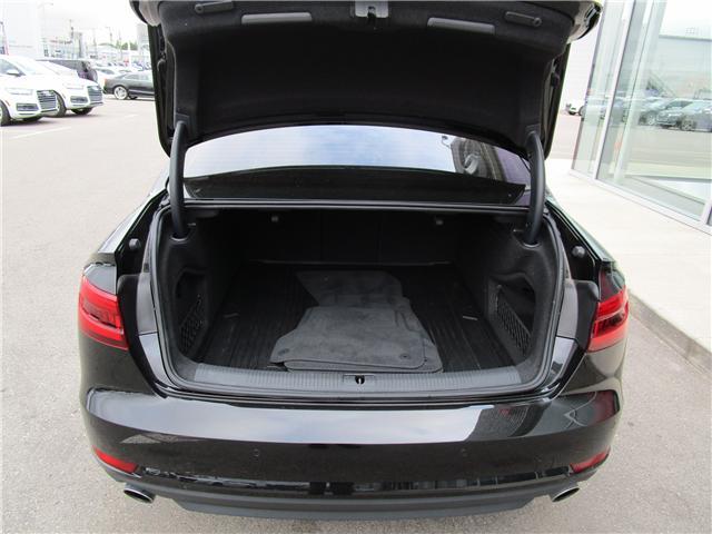 2017 Audi A4 2.0T Progressiv (Stk: 1800951) in Regina - Image 9 of 28
