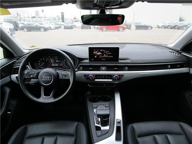 2017 Audi A4 2.0T Progressiv (Stk: 1800951) in Regina - Image 11 of 28