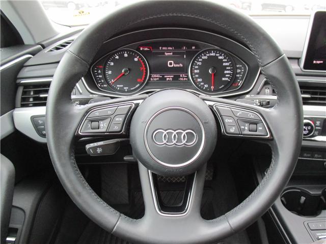 2017 Audi A4 2.0T Progressiv (Stk: 1800951) in Regina - Image 14 of 28