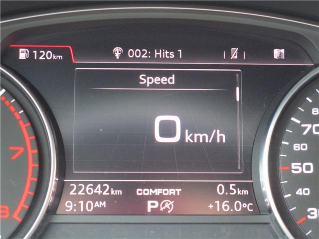 2017 Audi A4 2.0T Progressiv (Stk: 1800951) in Regina - Image 15 of 28