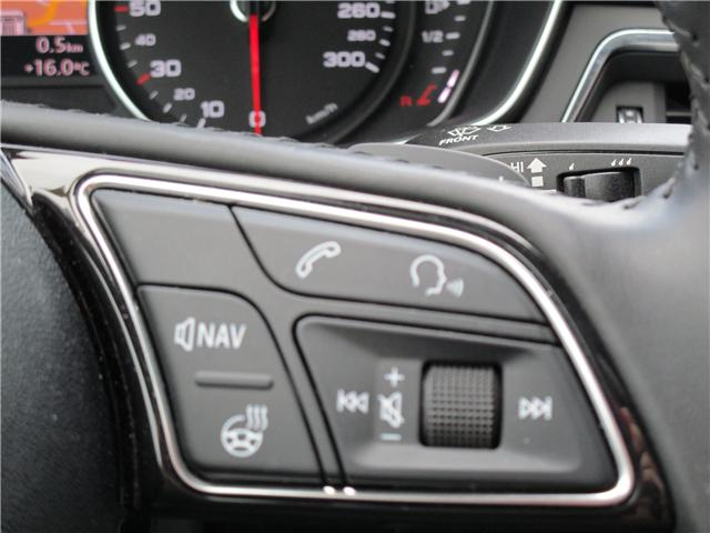 2017 Audi A4 2.0T Progressiv (Stk: 1800951) in Regina - Image 18 of 28