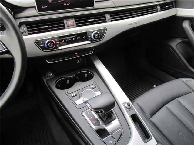2017 Audi A4 2.0T Progressiv (Stk: 1800951) in Regina - Image 20 of 28