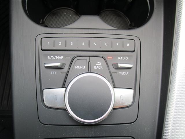 2017 Audi A4 2.0T Progressiv (Stk: 1800951) in Regina - Image 21 of 28
