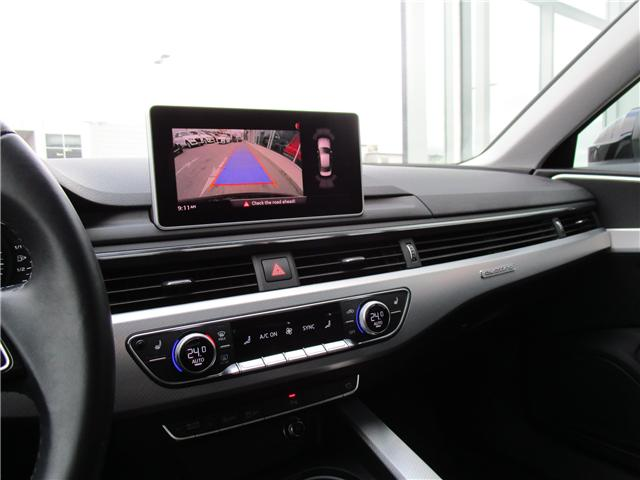 2017 Audi A4 2.0T Progressiv (Stk: 1800951) in Regina - Image 25 of 28