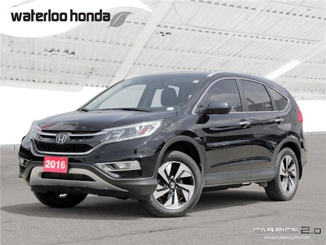 2016 Honda CR-V Touring (Stk: H3978A) in Waterloo - Image 1 of 28