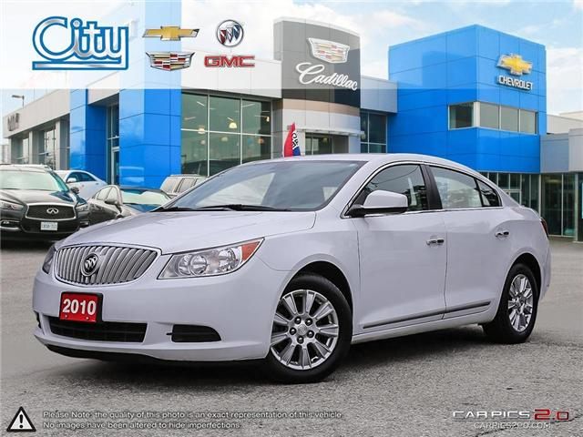 2010 Buick LaCrosse CX (Stk: R11933A) in Toronto - Image 1 of 27