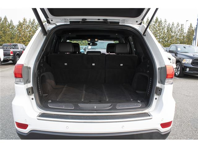 2017 Jeep Grand Cherokee Limited (Stk: AB0734A) in Abbotsford - Image 10 of 27
