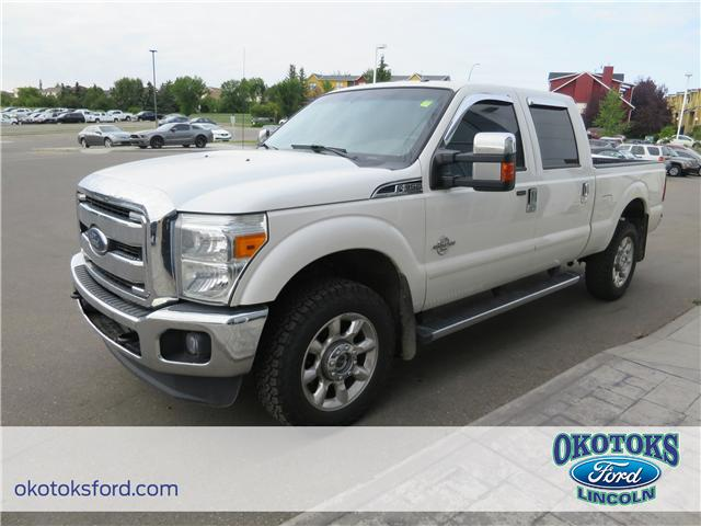 2014 Ford F-350 Lariat (Stk: JK-172A) in Okotoks - Image 1 of 21