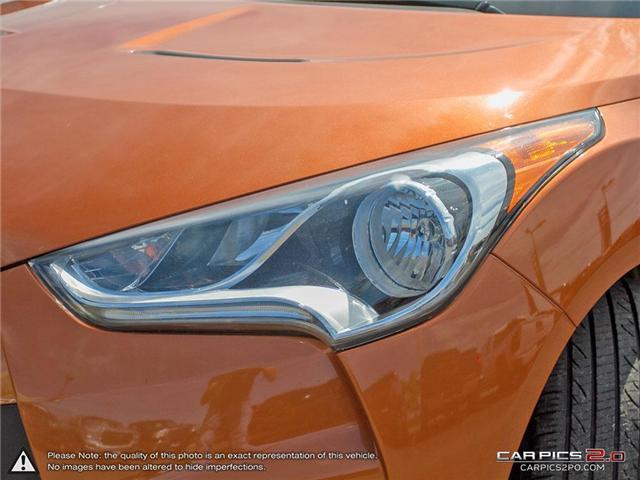 2015 Hyundai Veloster  (Stk: 27663) in Georgetown - Image 10 of 27