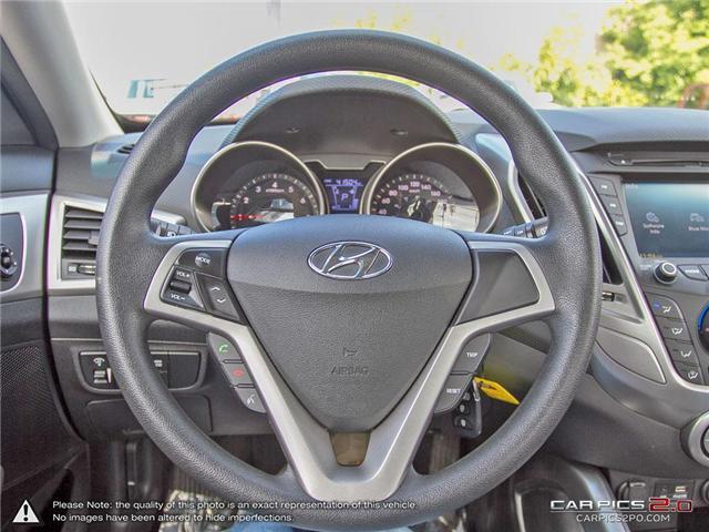 2015 Hyundai Veloster  (Stk: 27663) in Georgetown - Image 14 of 27
