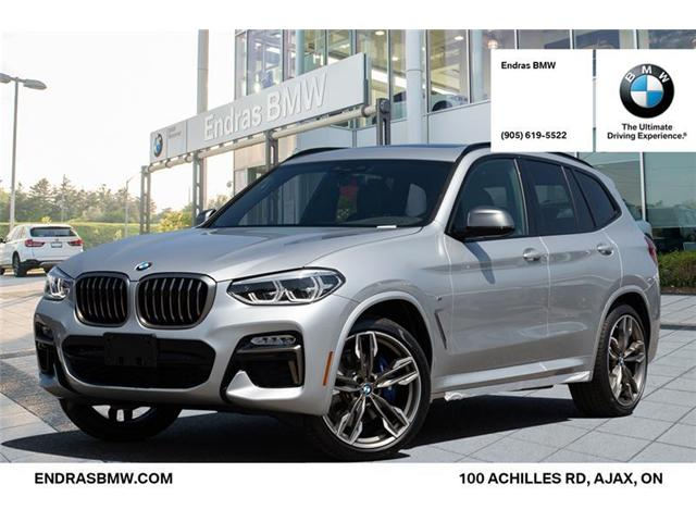 2018 bmw x3 m40i at 506 b w for sale in ajax endras bmw. Black Bedroom Furniture Sets. Home Design Ideas
