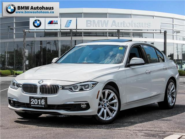 2016 BMW 328i xDrive (Stk: P8455) in Thornhill - Image 1 of 21