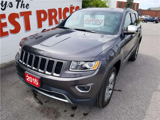 2015 Jeep Grand Cherokee Limited (Stk: 18-491) in Oshawa - Image 1 of 17