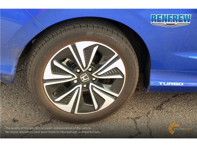 2018 Honda Civic EX-T (Stk: J162A) in Renfrew - Image 6 of 20