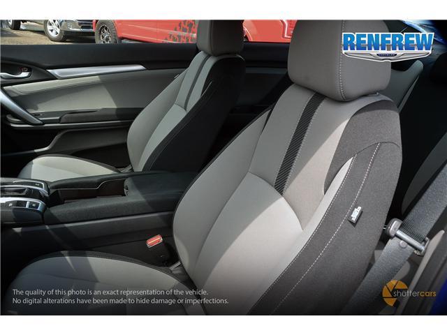2018 Honda Civic EX-T (Stk: J162A) in Renfrew - Image 10 of 20