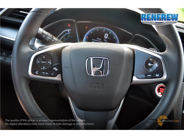 2018 Honda Civic EX-T (Stk: J162A) in Renfrew - Image 11 of 20