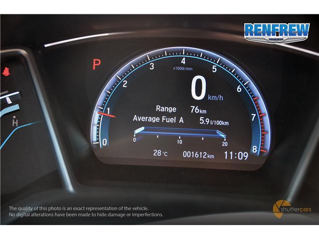 2018 Honda Civic EX-T (Stk: J162A) in Renfrew - Image 12 of 20