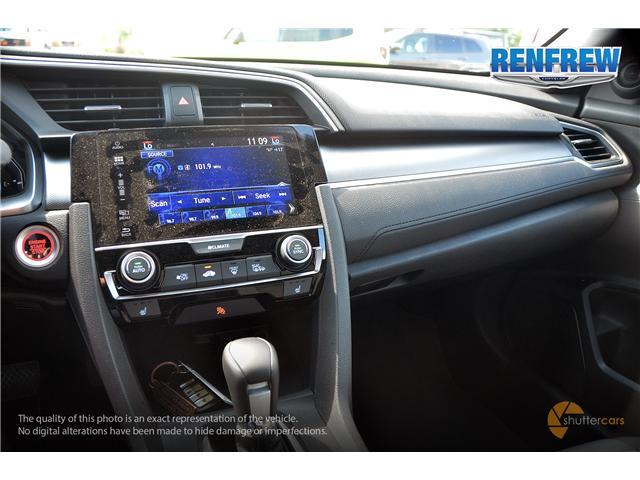 2018 Honda Civic EX-T (Stk: J162A) in Renfrew - Image 13 of 20