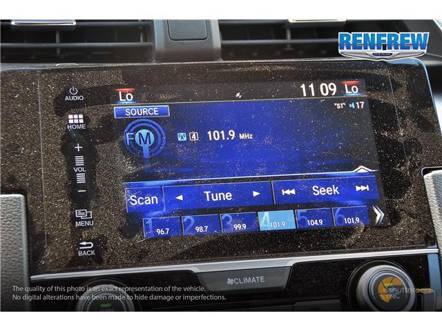 2018 Honda Civic EX-T (Stk: J162A) in Renfrew - Image 14 of 20