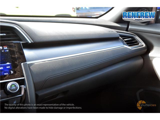 2018 Honda Civic EX-T (Stk: J162A) in Renfrew - Image 18 of 20