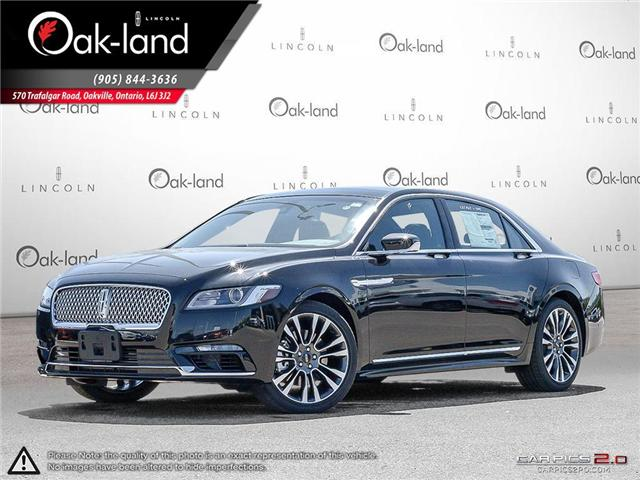 2017 Lincoln Continental Reserve (Stk: P5721) in Oakville - Image 1 of 25
