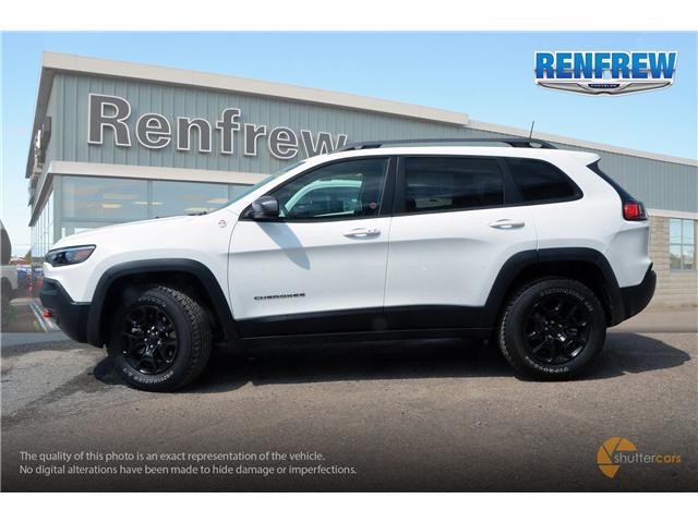 2019 Jeep Cherokee Trailhawk (Stk: K006) in Renfrew - Image 3 of 20