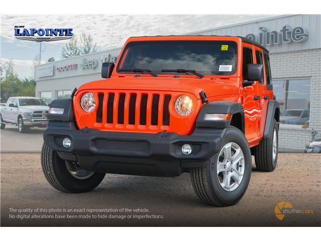2018 Jeep Wrangler Unlimited Sport (Stk: 18287) in Pembroke - Image 1 of 20