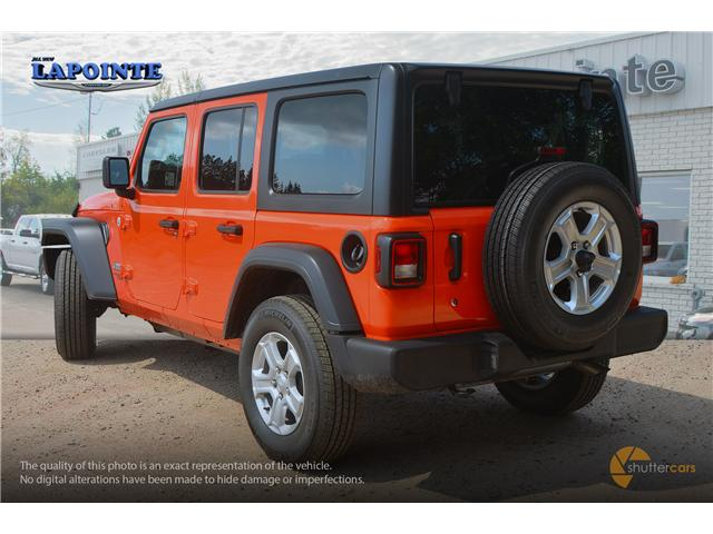 2018 Jeep Wrangler Unlimited Sport (Stk: 18287) in Pembroke - Image 4 of 20