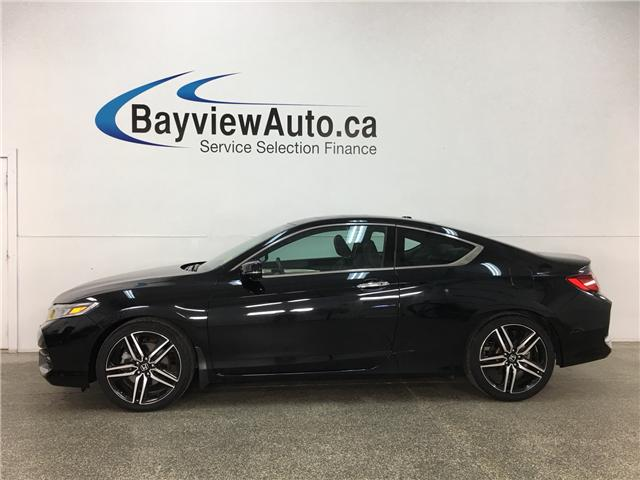 2016 Honda Accord Touring (Stk: 33219W) in Belleville - Image 1 of 29