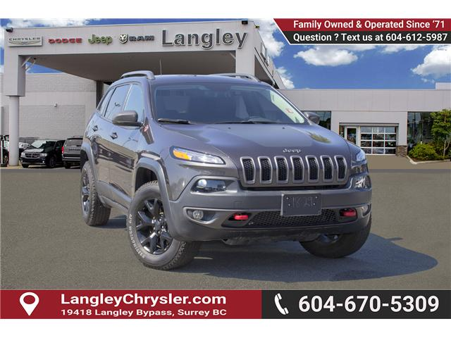 2017 Jeep Cherokee Trailhawk (Stk: EE895720) in Surrey - Image 1 of 26