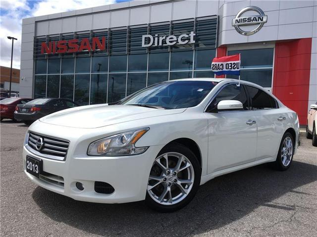 2013 Nissan Maxima 3.5 SV LEATHER IN VERY GOOD CONDITION (Stk: P0507) in Mississauga - Image 1 of 15