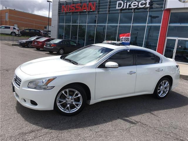 2013 Nissan Maxima 3.5 SV LEATHER IN VERY GOOD CONDITION (Stk: P0507) in Mississauga - Image 2 of 15