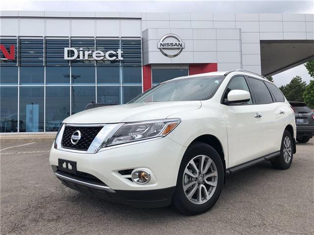 2016 Nissan Pathfinder SV. HEATED SEATS, BACK CAMERA, ALLOY WHEELS (Stk: N1967) in Mississauga - Image 1 of 23