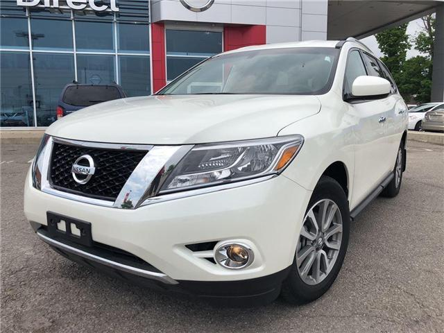 2016 Nissan Pathfinder SV. HEATED SEATS, BACK CAMERA, ALLOY WHEELS (Stk: N1967) in Mississauga - Image 2 of 23