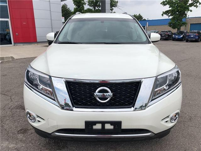 2016 Nissan Pathfinder SV. HEATED SEATS, BACK CAMERA, ALLOY WHEELS (Stk: N1967) in Mississauga - Image 3 of 23