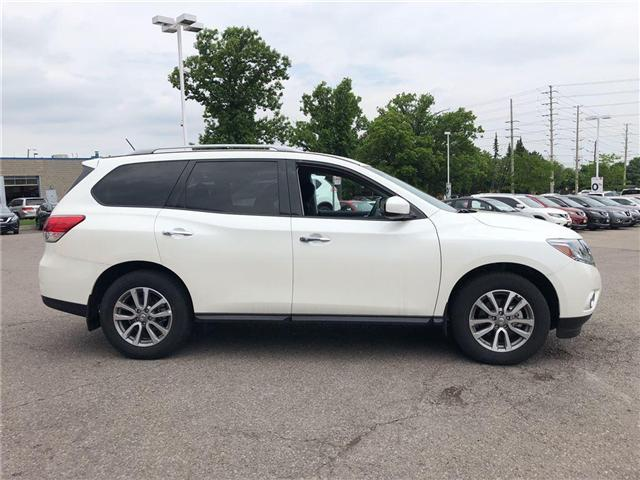 2016 Nissan Pathfinder SV. HEATED SEATS, BACK CAMERA, ALLOY WHEELS (Stk: N1967) in Mississauga - Image 5 of 23