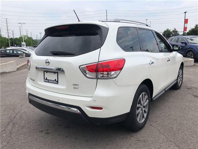 2016 Nissan Pathfinder SV. HEATED SEATS, BACK CAMERA, ALLOY WHEELS (Stk: N1967) in Mississauga - Image 6 of 23