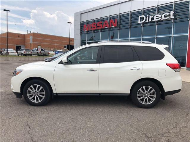 2016 Nissan Pathfinder SV. HEATED SEATS, BACK CAMERA, ALLOY WHEELS (Stk: N1967) in Mississauga - Image 9 of 23