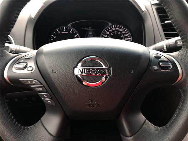 2016 Nissan Pathfinder SV. HEATED SEATS, BACK CAMERA, ALLOY WHEELS (Stk: N1967) in Mississauga - Image 19 of 23