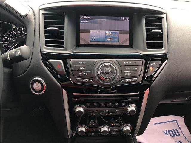 2016 Nissan Pathfinder SV. HEATED SEATS, BACK CAMERA, ALLOY WHEELS (Stk: N1967) in Mississauga - Image 20 of 23
